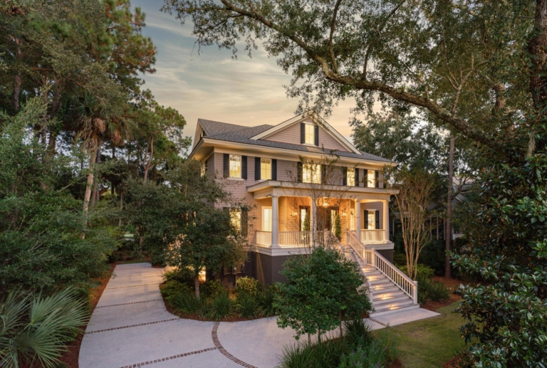 Finding Beautiful Places for Smiling Faces - Find My Porch Real Estate - Drive up to this beautiful home on Kiawah, SC - Robin Windham - Find My Porch Real Estate
