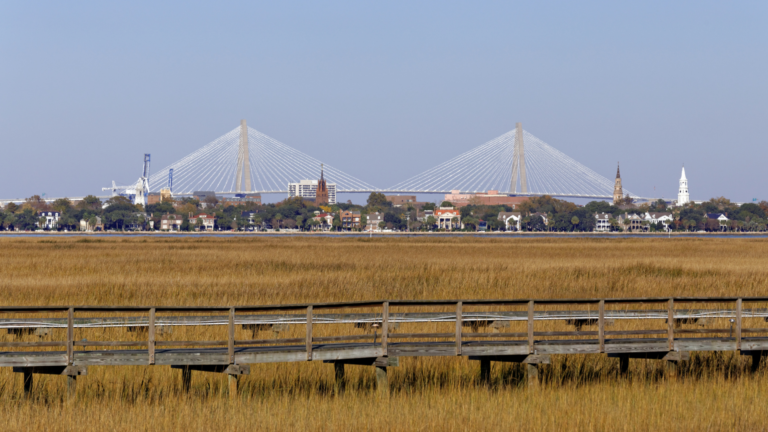 Finding Beautiful Places for Smiling Faces - Find My Porch Real Estate - Harbor views of the City of Charleston, SC from James Island, SC - Robin Windham - Find My Porch Real Estate