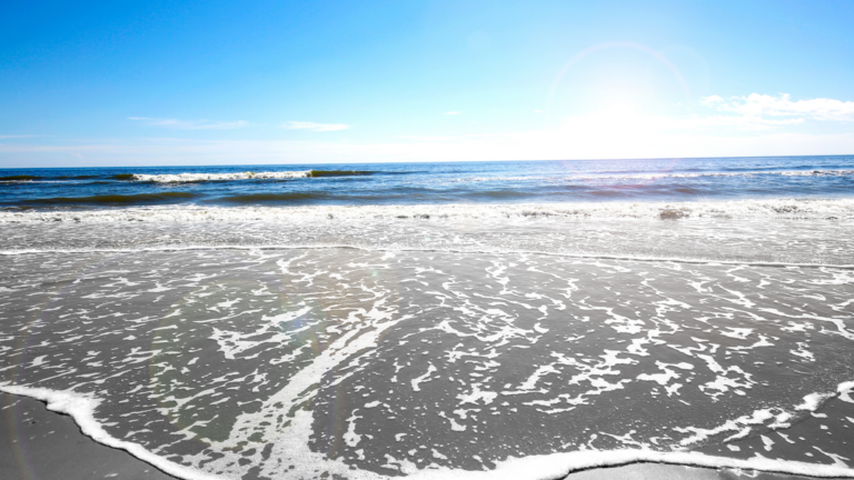 Finding Beautiful Places for Smiling Faces - Find My Porch Real Estate - Waves crashing onto the Isle of Palms, SC - Robin Windham - Find My Porch Real Estate