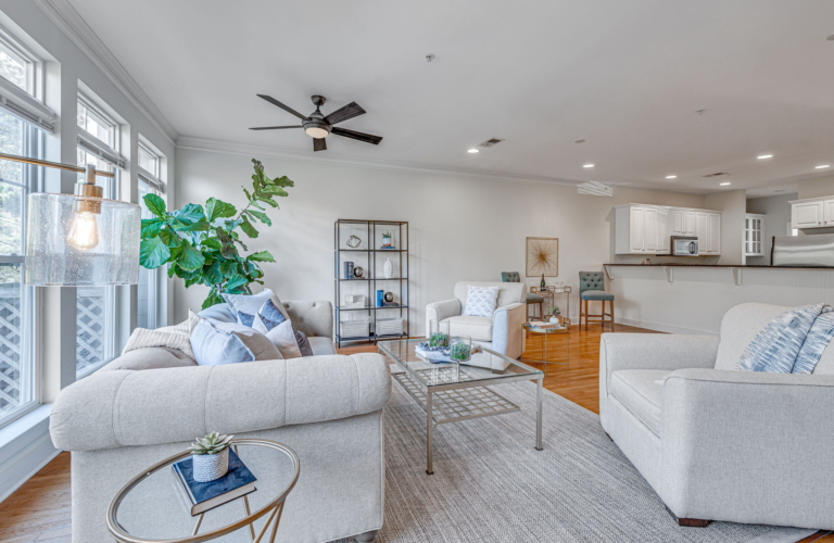 Finding Beautiful Places for Smiling Faces - Find My Porch Real Estate - Beautiful living room view - Robin Windham - Find My Porch Real Estate