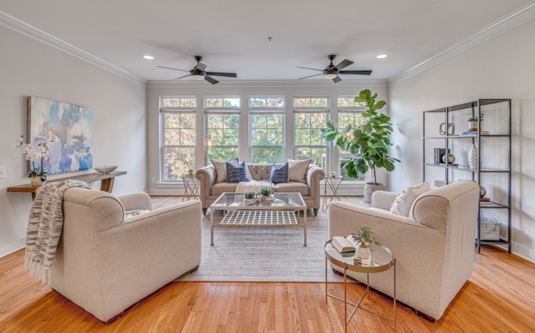 Finding Beautiful Places for Smiling Faces - Find My Porch Real Estate - Picture perfect window in living room - Robin Windham - Find My Porch Real Estate